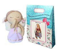 """Подарочный набор для шитья из ткани """"Кукла. Сонечка"""""""