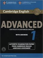 Cambridge English. Advanced 1. Student`s Book with Answers (+ 2 CD)