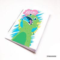 """Блокнот """"Динозавр"""" (А7; арт. 098)"""