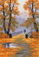 """Вышивка крестом """"Осень в парке"""""""