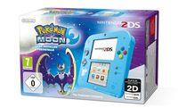Игровая Приставка Nintendo 2DS (голубой) + Pokémon Moon