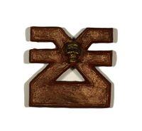 """Печать на магните """"Warhammer 40000. Символ Кхорна"""""""