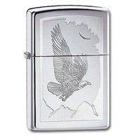 Зажигалка Zippo 21 069. Birds Of Prey. High Polish Chrome