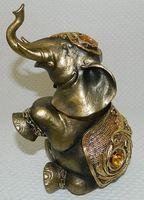 """Статуэтка пластмассовая """"Слон"""" (11х13,5х21,5 см; арт. 219068B-8)"""