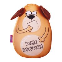 "Игрушка-антистресс ""Собака-подозревака"" (30 см; оранжевый)"