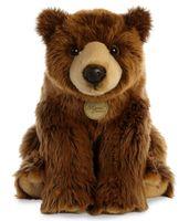 """Мягкая игрушка """"Медведь гризли"""" (38 см)"""
