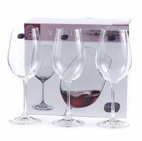 """Бокал для вина стеклянный """"Viola"""" (6 шт.; 450 мл; арт. 40729/450)"""