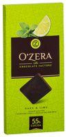 """Шоколад горький """"O'Zera. Dark&Lime"""" (100 г)"""