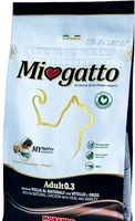 "Сухой корм для кошек ""Miogatto"" (1,5 кг; телятина и ячмень)"