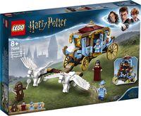 "LEGO Harry Potter ""Карета школы Шармбатон: приезд в Хогвартс"""