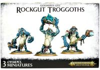 Warhammer Age of Sigmar. Gloomspite Gitz. Rockgut Troggoths (89-33)