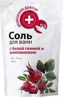 Соль для ванн с белой глиной и шиповником (500 г)