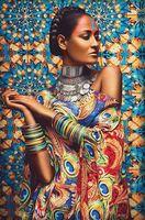 """Алмазная вышивка-мозаика """"Обворожительная Иара"""""""