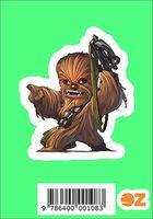 """Глянцевая наклейка """"Звёздные войны. Чуи"""" (арт. 108)"""