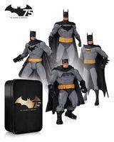 Набор фигурок Batman. 75th Anniversary №2. 4 в 1 (17 см)