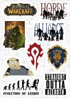 Набор виниловых наклеек 618 - Warcraft 2