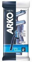 """Станок для бритья одноразовый """"Arko T2"""" (3 шт.)"""