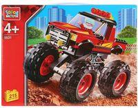"""Конструктор """"Ралли. Джип с большими колесами"""" (215 деталей)"""