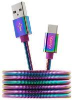Кабель Canyon CNS-USBC7RW (фиолетовый)