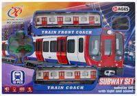 Железная дорога (со световыми и звуковыми эффектами; арт. JHX5507)