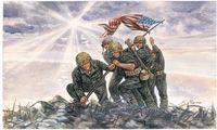 """Набор миниатюр """"Iwo Jima Flag Raisers"""" (масштаб: 1/72)"""