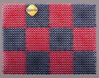 """Коврик """"Gras"""" (42х56 см; красно-черный)"""