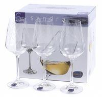 "Бокал для вина стеклянный ""Sandra"" (6 шт.; 250 мл; арт. 40728/C5987/250)"