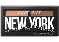 """Палетка для скульптурирования лица """"New York"""" тон: 802"""