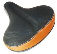 """Седло для велосипеда """"HW 140053"""" (чёрно-серо-коричневое)"""