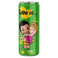 """Напиток газированный """"Love is. Яблоко-лимон"""" (330 мл)"""