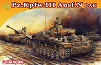 """Средний танк """"Pz.Kpfw.III Ausf.N DAK"""" (масштаб: 1/72)"""