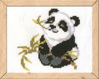 "Вышивка крестом ""Панда"" (160х130 мм)"