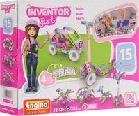 """Конструктор """"Inventor Girl. 15 моделей"""" (87 деталей)"""