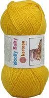 "Пряжа ""KARTOPU. Woolly Baby №K322"" (50 г; 148 м; желтый)"