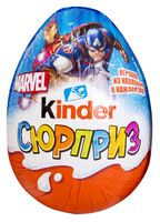 """Яйцо шоколадное """"Kinder Сюрприз"""" (20 г; арт. OsnФ0967)"""