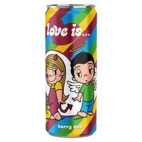 """Напиток газированный """"Love is. Ягодный Микс"""" (330 мл)"""