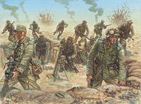"""Набор миниатюр """"Германский африканский корпус"""" (масштаб: 1/72)"""