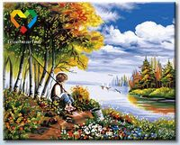 """Картина по номерам """"В предвкушении улова"""" (400x500 мм; арт. HB4050160)"""
