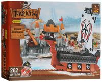 """Конструктор """"Пираты. Осада малого форта"""" (262 детали)"""