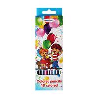 """Цветные карандаши """"Дети"""" (18 цветов; арт. DV-4802-18)"""