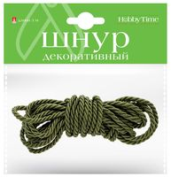 Шнур декоративный (зеленый)