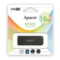USB Flash Drive 16Gb Apacer AH 325 Retail (Black)