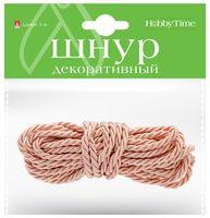 Шнур для плетения (розовый)