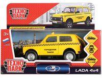 """Модель машины """"Lada 4x4. Такси"""" (арт. LADA4X4-T)"""