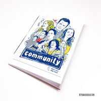 "Блокнот белый ""Community"" А7 (арт. 129)"