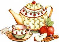 "Алмазная вышивка-мозаика ""Чай с корицей"" (400х300 мм)"