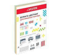 """Бумага """"DeVENTE"""" (А4; 100 листов; 80 г/м2; цветная)"""