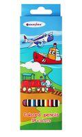 """Цветные карандаши """"Веселое путешествие"""" (18 цветов; арт. DV-4803-18)"""