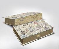 """Подарочная коробка """"Штамп"""" M (20х14х6 см; арт. 42367)"""