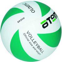 """Мяч волейбольный Atemi """"Olimpic"""" №5 (зелёно-белый)"""